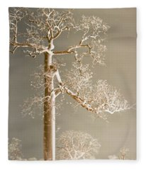 The Dreaming Tree Fleece Blanket