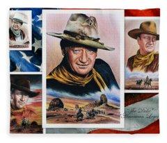 The Duke American Legend Fleece Blanket