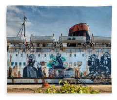 The Duke Of Graffiti Fleece Blanket