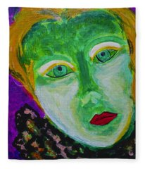The Emerald Lady Fleece Blanket