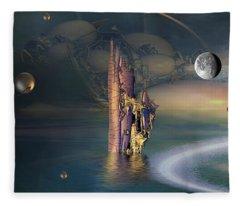 The Endless River Fleece Blanket