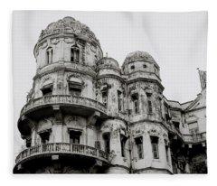 The Esplanade Mansions Fleece Blanket