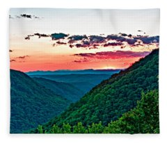 The Far Hills 2 Fleece Blanket