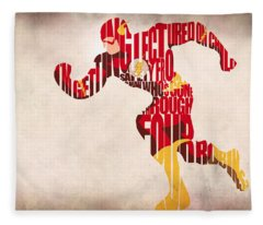 The Flash Fleece Blanket