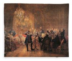 The Flute Concert Fleece Blanket