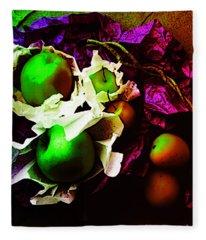 The Forbidden Fruit II Fleece Blanket