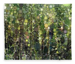 The Forest Fleece Blanket
