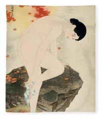 The Fragrance Of A Bath Fleece Blanket