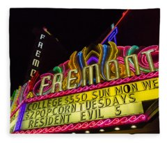 The Fremont Fleece Blanket