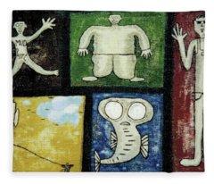 The Gang Of Five Fleece Blanket