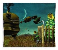 The Gardener Fleece Blanket