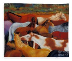The Gathering Fleece Blanket