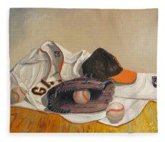The Giant Sleeps Tonight Fleece Blanket