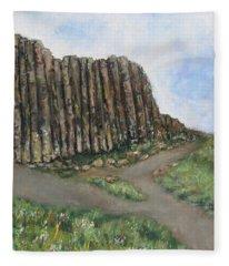 The Giant's Causeway Fleece Blanket