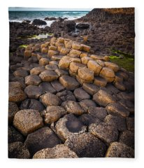 The Giant's Causeway - Rocky Road Fleece Blanket