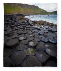 The Giant's Causeway - Staircase Fleece Blanket