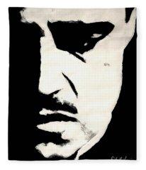 The Godfather Fleece Blanket