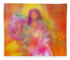 The Golden Deva Fleece Blanket