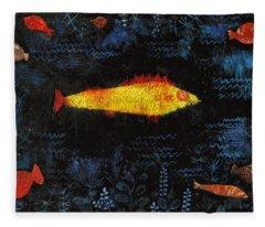 The Goldfish Fleece Blanket