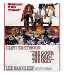 The Good The Bad And The Ugly  Fleece Blanket