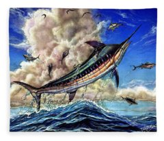 The Grand Challenge  Marlin Fleece Blanket