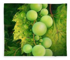 The Grapes Fleece Blanket
