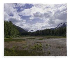 The Great Alaskan Wilderness Fleece Blanket