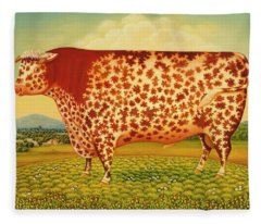 The Great Bull Fleece Blanket