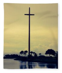 The Great Cross Fleece Blanket