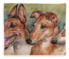 The Greyhounds Fleece Blanket