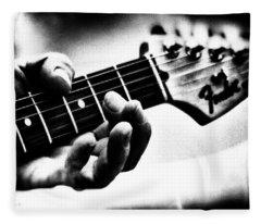 The Guitar Fleece Blanket