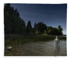 The Haunting Fleece Blanket