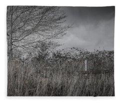 The Hidden Bench 2 Fleece Blanket