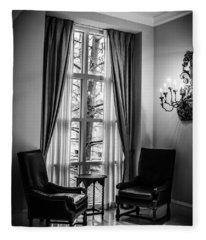 The Hotel Lobby Fleece Blanket