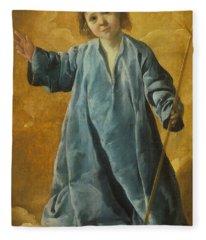 The Infant Christ Fleece Blanket