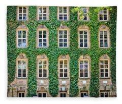 The Ivy Walls Fleece Blanket