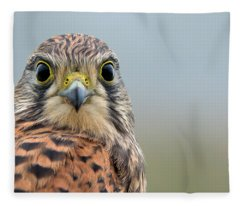 The Kestrel Face To Face Fleece Blanket