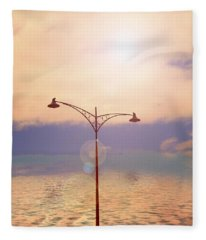 The Lampost Fleece Blanket