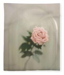 The Last Rose Fleece Blanket