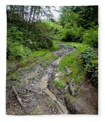 The Ledge Point Trail Fleece Blanket