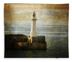 The Lighthouse Fleece Blanket