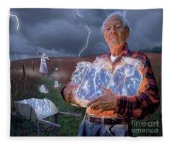 Lightning Fleece Blankets