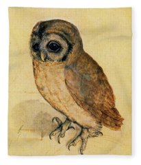 The Little Owl Fleece Blanket