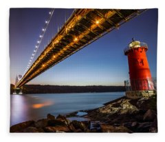The Little Red Lighthouse Fleece Blanket