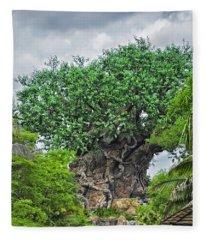 The Living Tree Walt Disney World Fleece Blanket
