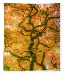 The Magic Forest-15 Fleece Blanket