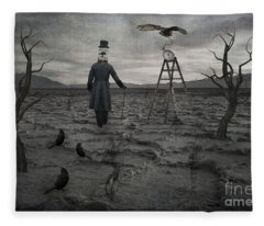 The Magician Fleece Blanket