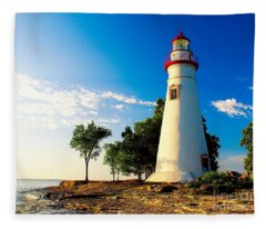 The Marblehead Light Fleece Blanket