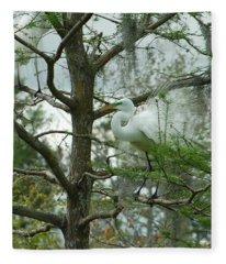 The Mating Dance Fleece Blanket