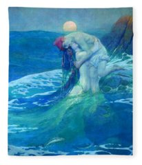 The Mermaid Fleece Blanket